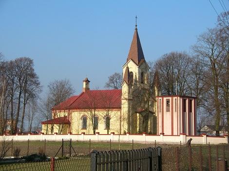 Kościół parafii pw. św. Mikołaja Biskupa w Gomulinie